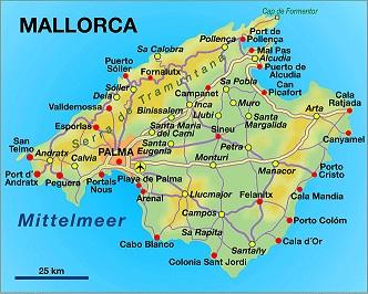 Mapa Calas De Mallorca.Isla De Mallorca Reportaje Fotos Ile De Majorque